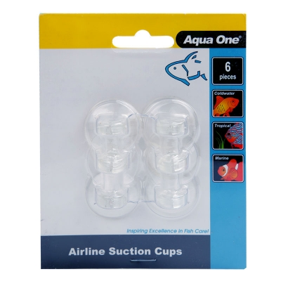 Aqua One Airline Suction Cups 6pk