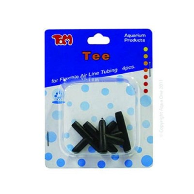 Aqua One Airline Tee Connectors 4pk