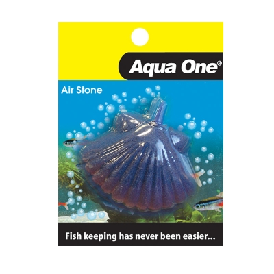 Aqua One Airstone Shell Fish Medium