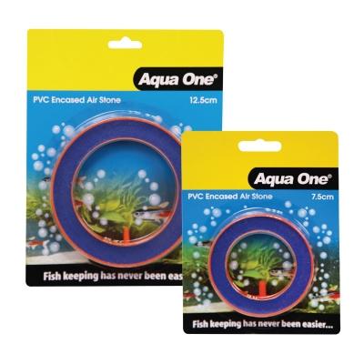 Aqua One Airstone PVC Encased Beauty Round 12.5cm