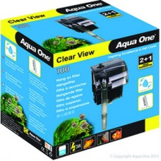 Aqua One Clear View 100 Hang On Filter 180L/Hr