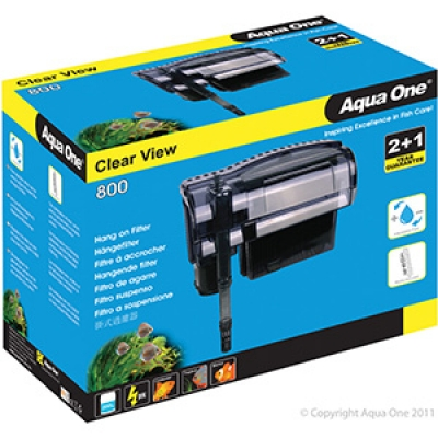 Aqua One Clear View 800 Hang On Filter 800L/Hr