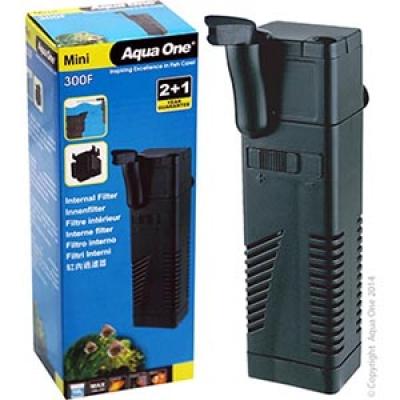 Aqua One Mini 300F Internal Filter 150L/Hr