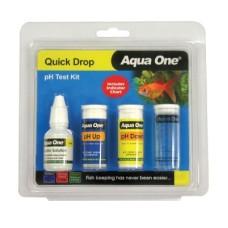 Aqua One Quick Drop PH Test Kit
