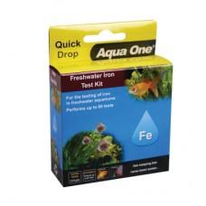 Aqua One Freshwater Iron FE Quick Drop Test Kit