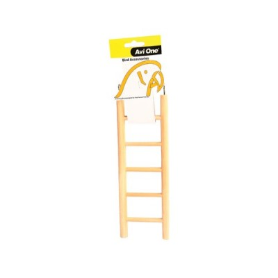 Avi One Bird Toy Wooden Ladder 14 Rung