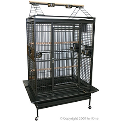 Avi One Parrot Cage Heavy Duty with Play Pen 31mm 101x76x190cm