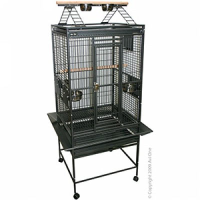 Avi One Parrot Cage with Play Pen 20mm 76x71x158cm