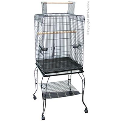 Avi One Parrot Cage Medium Open Top 53x53x146cm
