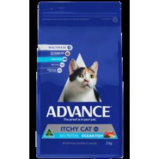 Advance Dry Cat Food Itchy Cat Ocean Fish 2kg