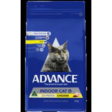 Advance Dry Cat Food Indoor Chicken 2kg