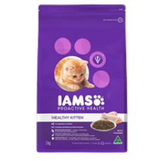 Iams Dry Cat Food Kitten 3kg