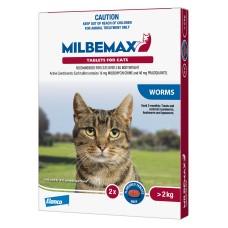 Milbemax Cat Large 2kg+ 2pk