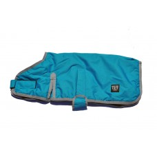 Tuff Dog Pet Coat Teal 80cm
