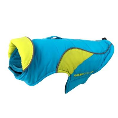 Huskimo Dog Coat Sherpa Odour Free Bondi Blue 52cm