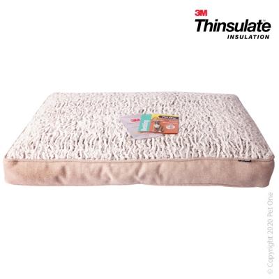 Pet One Bedding Mattress Warmzone Linen Coffee XL