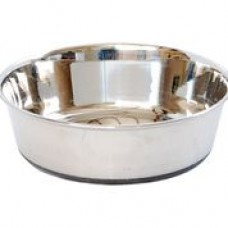 Canine Care Stainless Steel Bowl Heavy Duty Non Skid 340ml