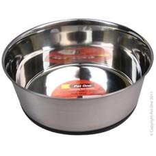 Pet One Stainless Steel Bowl Premium Heavy Duty Anti Skid 1.1L