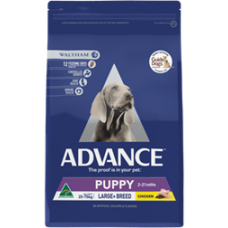 Advance Dry Dog Food Puppy Large Breed Chicken 15kg
