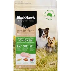 Black Hawk Dry Dog Food Adult Grain Free Chicken 15kg