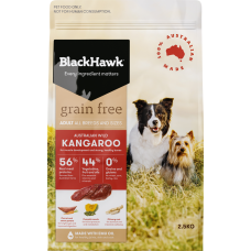 Black Hawk Dry Dog Food Adult Grain Free Kangaroo 15kg