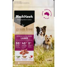 Black Hawk Dry Dog Food Adult Grain Free Lamb 15kg
