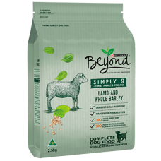Purina Beyond Simply 9 Dry Dog Food Lamb & Whole Barley 15kg