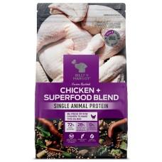 Billy & Margot Dry Dog Food Grain Free Chicken Superfood Blend 9kg