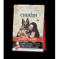 Cherish Dry Dog Food Super 7 Years+ 15kg
