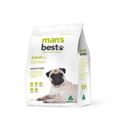 Man's Best Dry Dog Food Grain Free Adult Chicken 12kg