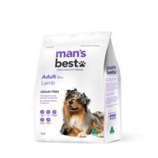 Man's Best Dry Dog Food Grain Free Adult Lamb 2kg