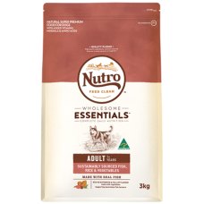 Nutro Wholesome Essentials Adult Dry Dog Food Fish Rice Vegetable 15kg