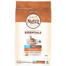Nutro Wholesome Essentials Adult Dry Dog Food Large Breed Chicken Rice Vegetable 15kg
