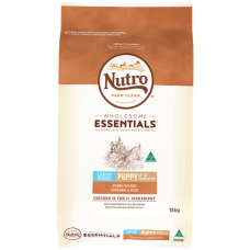 Nutro Wholesome Essentials Puppy Dry Dog Food Large Breed Chicken Rice Vegetable 15kg