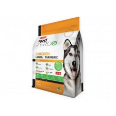 Prime 100 SPD ZeroG Dry Dog Food Adult Chicken Lentil 12kg