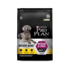 Pro Plan Dry Dog Food Adult Bright Mind Medium Large 7+ 12kg