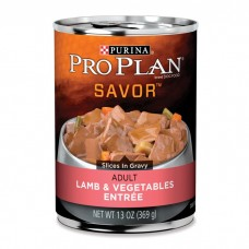 Pro Plan Wet Dog Food Adult Lamb Vegetable 368g 12pk