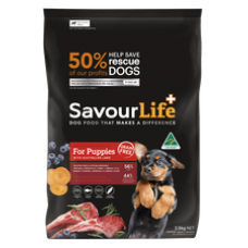 SavourLife Dry Dog Food Grain Free Puppy Lamb 10kg