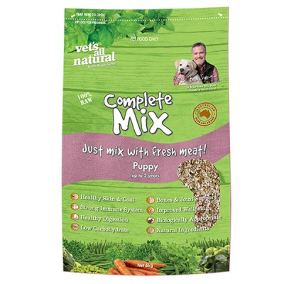 Vet's All Natural Complete Mix Puppy 1kg
