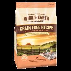 Whole Earth Farms Dry Dog Food Grain Free Salmon Tuna 12kg