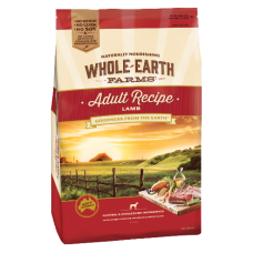 Whole Earth Farms Dry Dog Food Adult Lamb 15kg