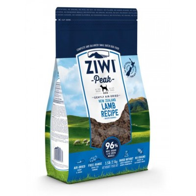 Ziwi Peak Air Dried Lamb for Dogs 2.5kg