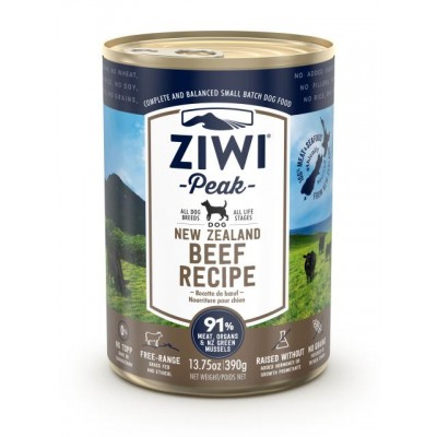 Ziwi Peak Wet Dog Food Beef 12 x 390g