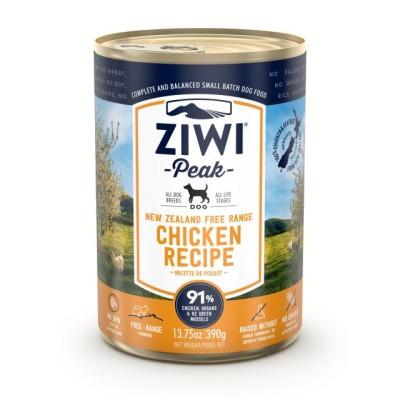 Ziwi Peak Wet Dog Food Chicken 12 x 390g