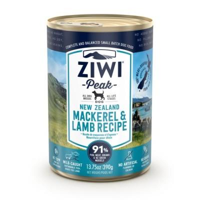 Ziwi Peak Wet Dog Food Mackerel Lamb 12 x 390g