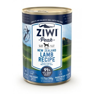 Ziwi Peak Wet Dog Food Lamb 12 x 390g