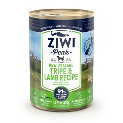 Ziwi Peak Wet Dog Food Tripe Lamb 12 x 390g