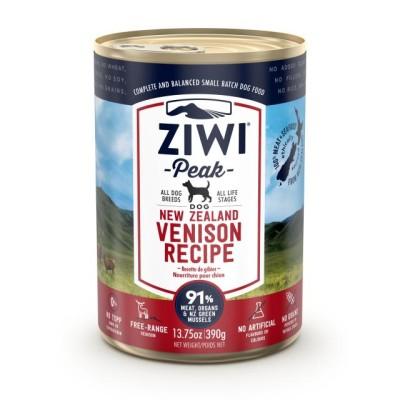 Ziwi Peak Wet Dog Food Venison 12 x 390g