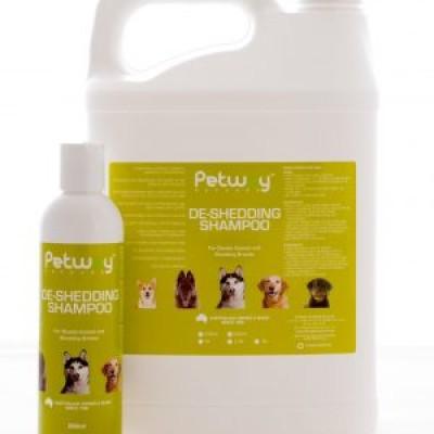Petway De-Shedding Dog Shampoo 250ml