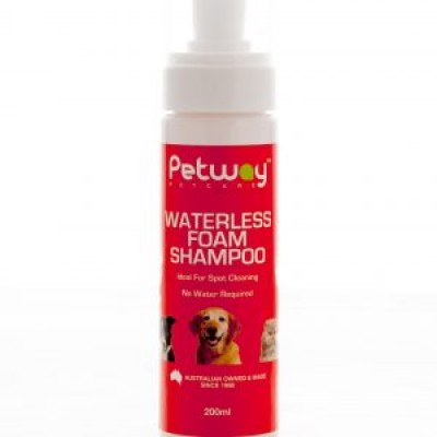 Petway Waterless Foam Dog Shampoo 200ml